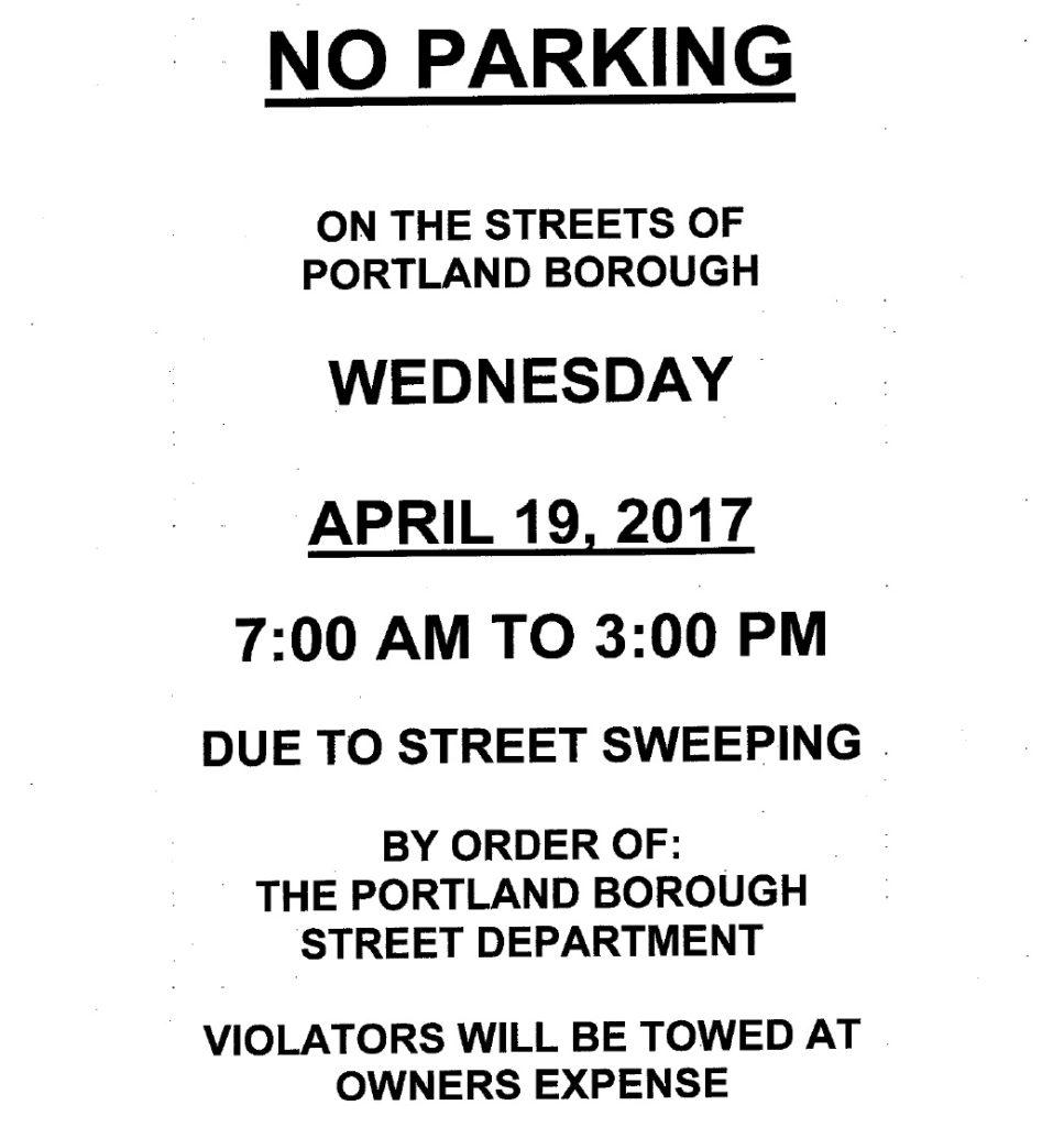 street sweeping 2017
