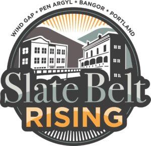 Slate Belt Rising Logo