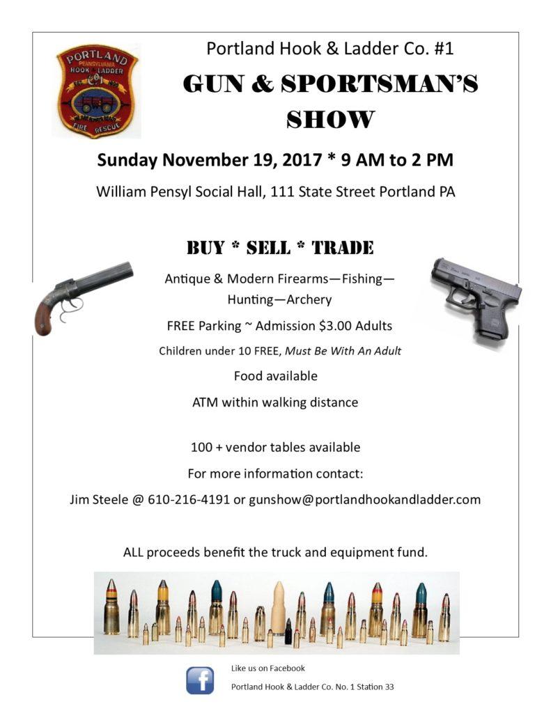 gun show flyer 2017