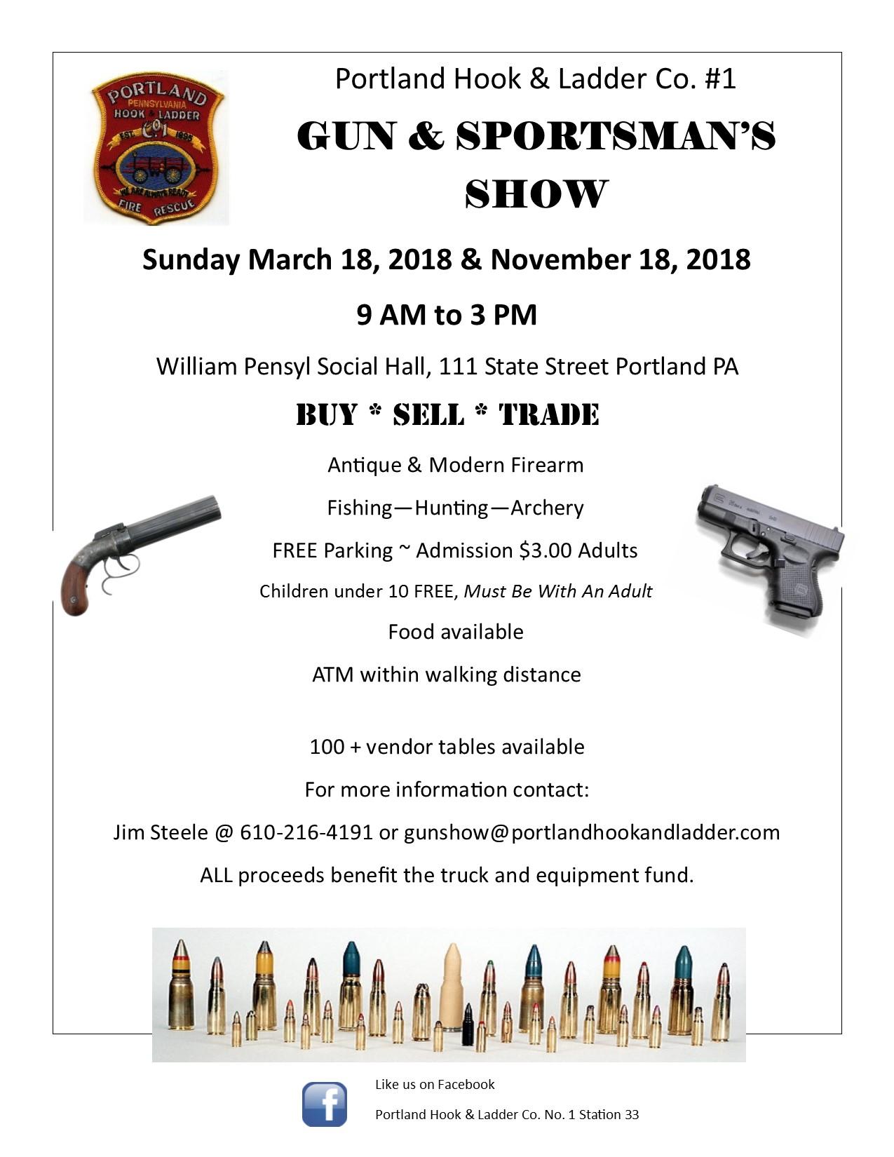 gun show flyer 2018