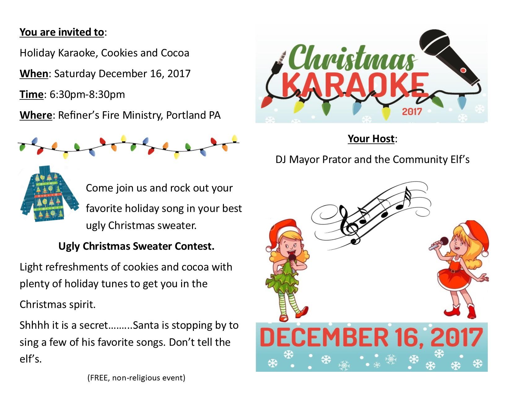 Karaoke Flyer 2017