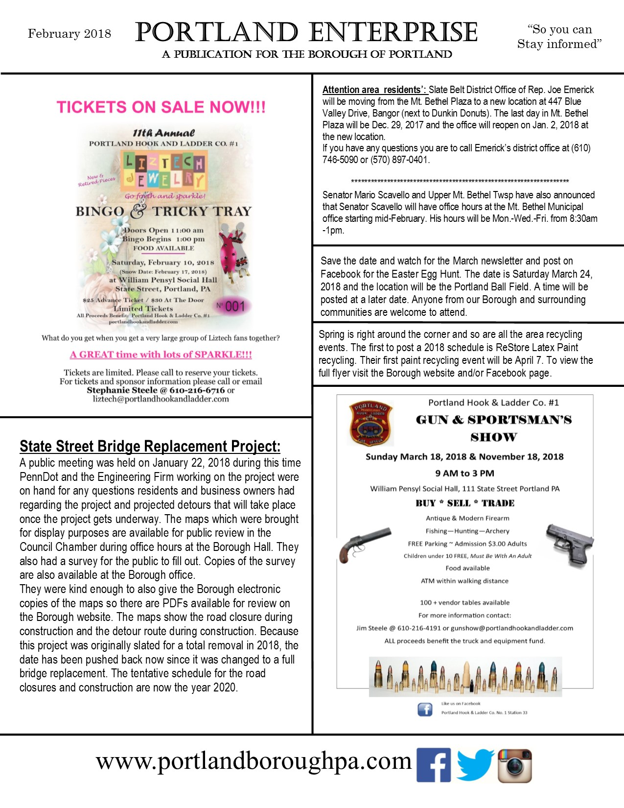 newsletter February 2018 page 1