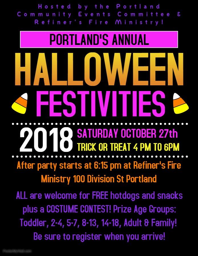 Halloween Flyer 2018